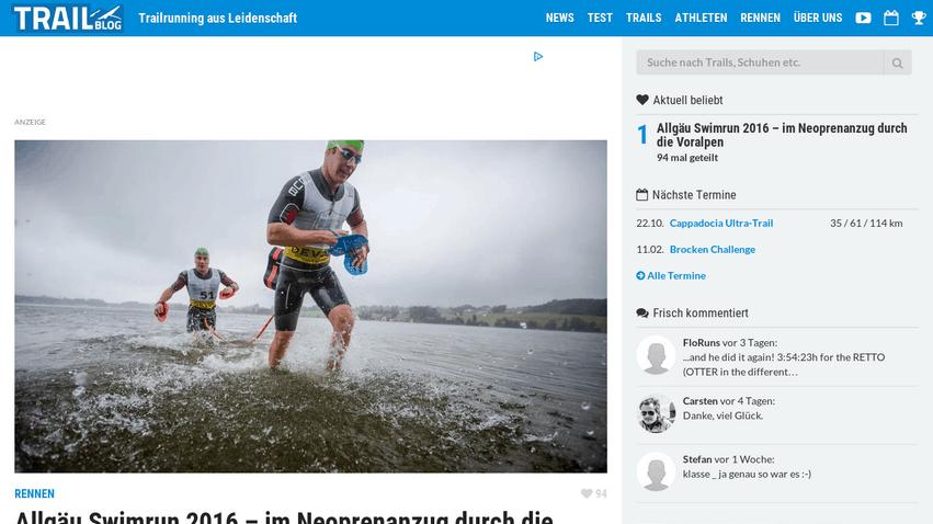 Laufblog trailblog.de